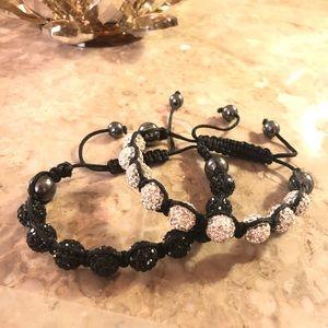 Jewelry - TWO SPARKLY BRACELETS!!